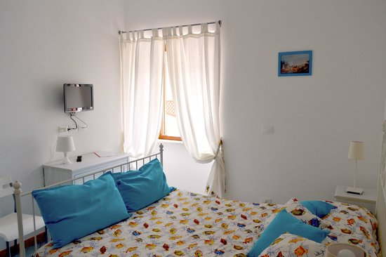 Villa Adriana: camera azzurra