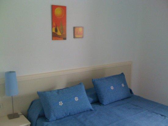 Villa Adriana : camera blu