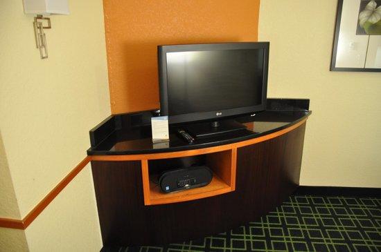 Fairfield Inn & Suites Paducah : TV