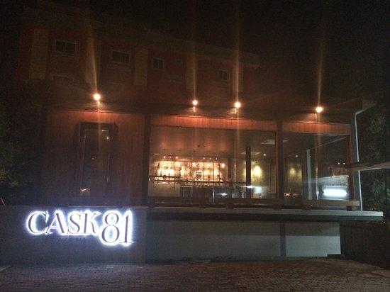 Cask 81 Whisky Bar: Menu and Bar Shelf