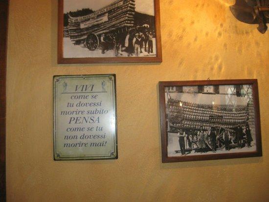 All'Antico Ristoro di Cambi : locale per chi ama il cibo e la qualita'