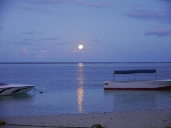 Veranda Palmar Beach: lever de lune sur la plage