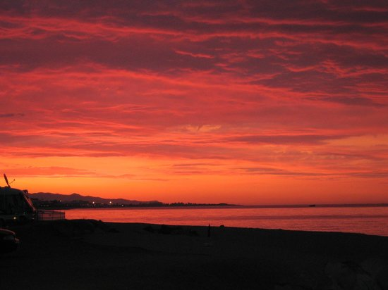 Camping Bon Repos: Sonnenaufgang