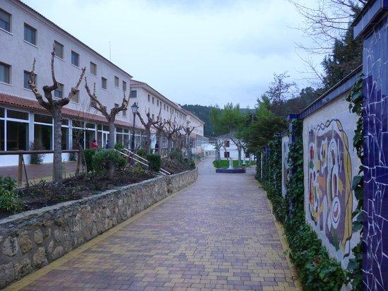 Balneario de la Concepción: Vista Entrada