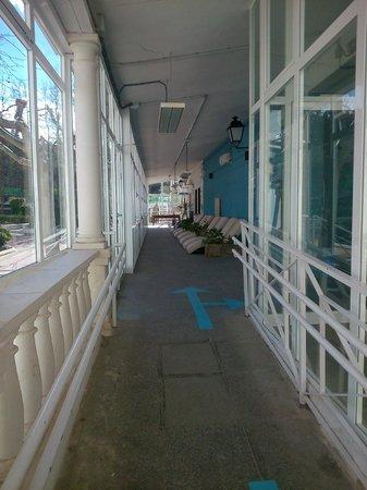 Balneario de la Concepción: Zona relax
