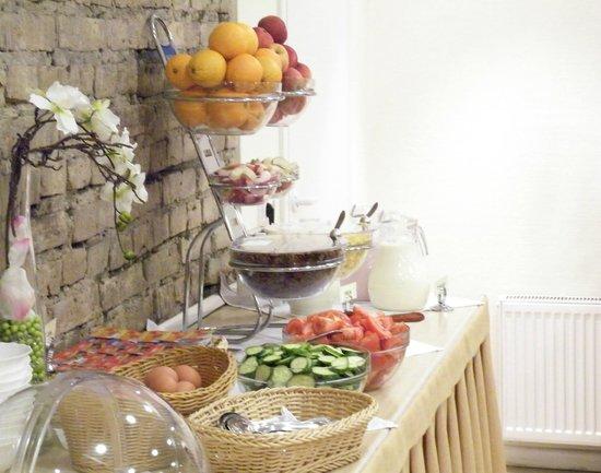 Ivolita Vilnius Hotel: Breakfast