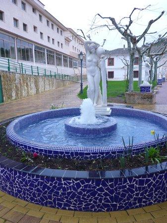 Balneario de la Concepción: Fuente