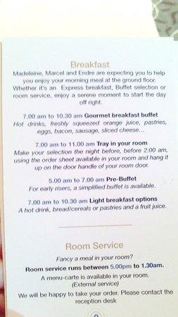 Best Western Premier Le Swann : Frühstücksoptionen