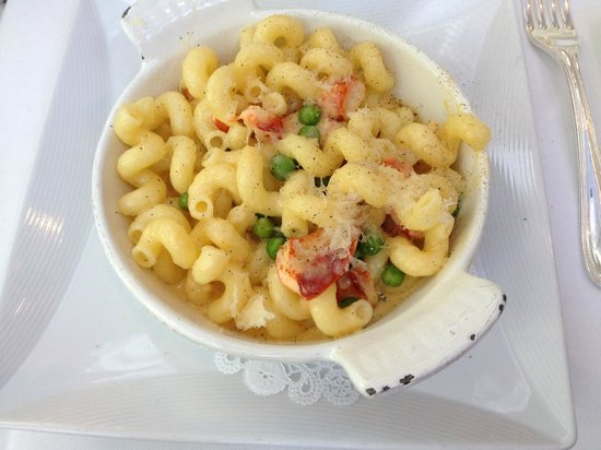 The Palmetto Cafe: lobster mac & cheese