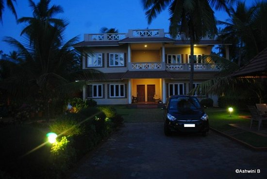 Asokam Beach Resort: The main house and rooms