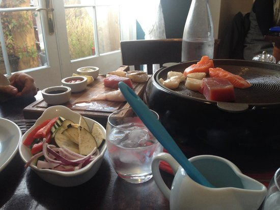 Chapman's Seafood Bar & Brasserie: Cook yourself