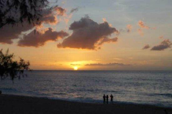 Grand Hotel des Mascareignes: Coucher de soleil à Boucan-Canot