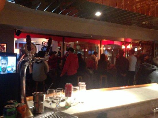 La Copa: Bar area