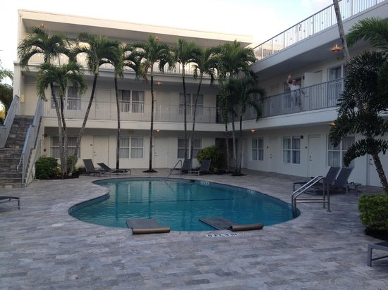 The Royal Palms Resort & Spa: The back building and pool