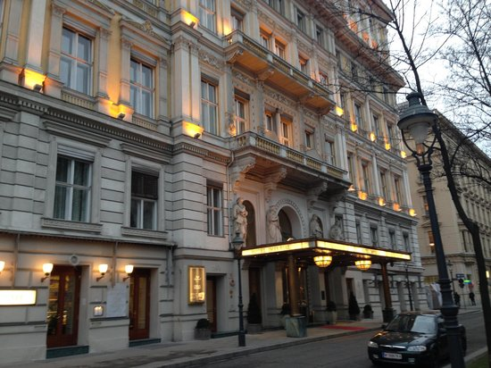 Street view picture of hotel imperial vienna vienna for Tripadvisor vienna