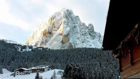 Hotel Rodella: Panorama dalla nostra camera