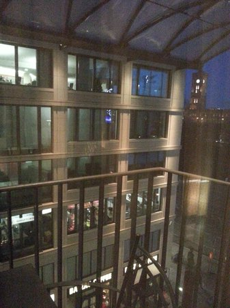 Radisson Blu Hotel, Berlin: View from the room