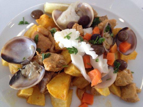 Bifinhos com cogumelos Almoço executivo - Picture of ...