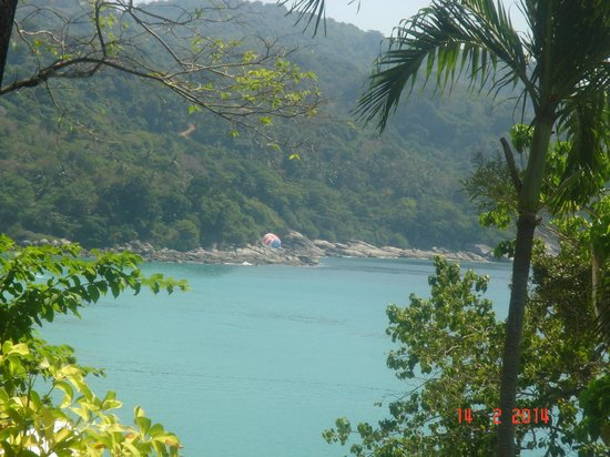 Mom Tri's Villa Royale: The view from breakfast terrace