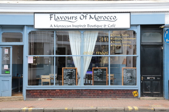 Flavours of Morocco: Exterior Restaurant