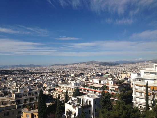 Saint George Lycabettus : View from Breakfast