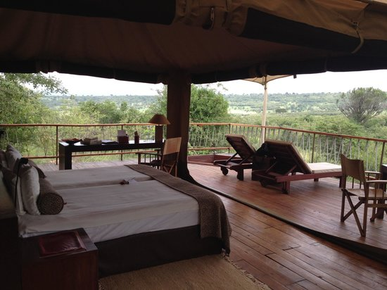 Mara Bushtops & Spa Village : Room with a view