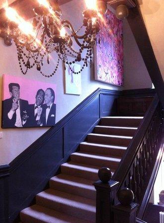 Bagshaw Hall: main staircase