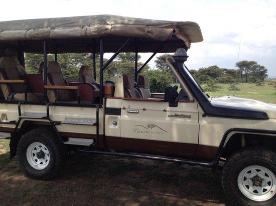 Mara Bushtops: Ride in style