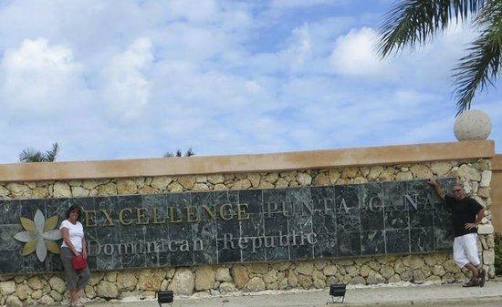 Excellence Punta Cana : Entrance