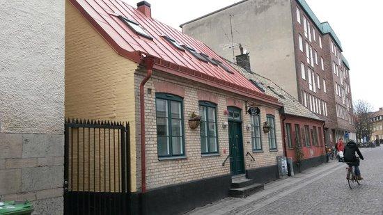Hotell Oskar: Hotel Oskar set fra gaden