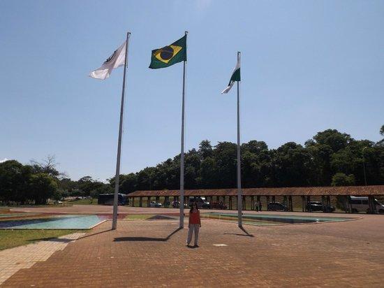 Foz do Iguaçu : entrada del parque