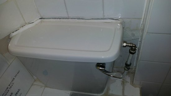 Kensington Court Hotel Notting Hill: Nasty unhygienic toilet