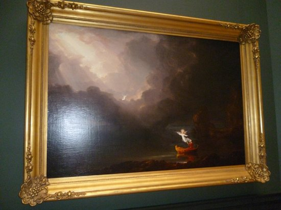 National Gallery of Art: Thomas Cole. The Voyage of Life^ Old Age (1842)