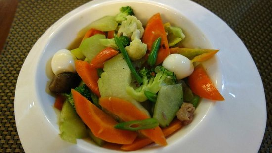 Chriscentville Hotel: Tasty Food