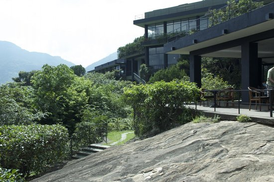 Heritance Kandalama : view from the pool area