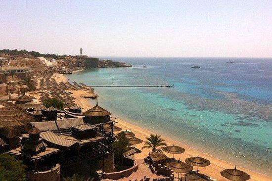 Sharm Cliff Resort: Пляж Hadaba