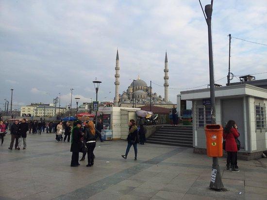 Sultanahmet District: outside blue mosque