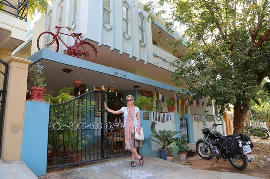 Mysore Bed and Breakfast: Entrance