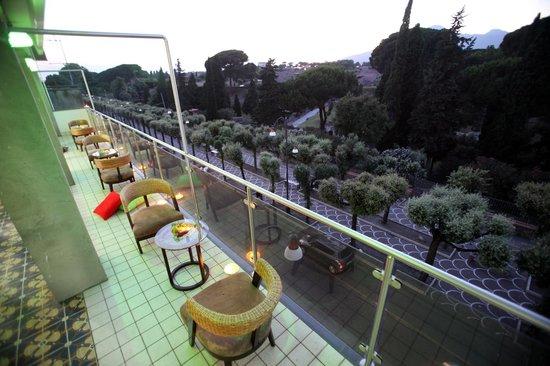 Hotel del Sole : Vista scavi