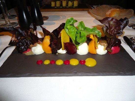 Araxi Restaurant & Oyster Bar: Starter - Local Assorted Beet Salad