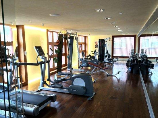 Melia Bilbao: Fitnessraum