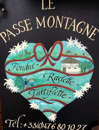 Le Passe Montagne: +33(0)4.76.80.10.27
