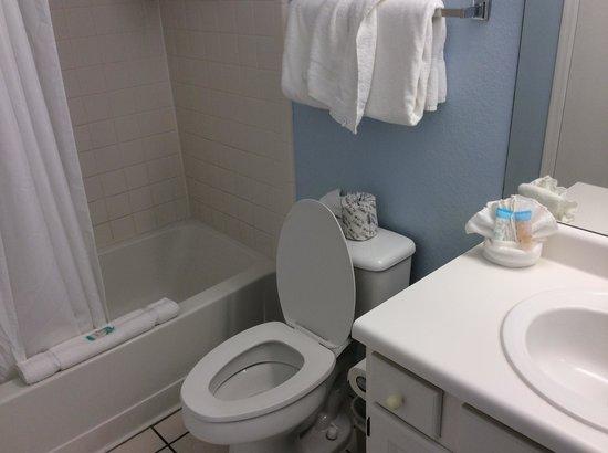Oak Plantation Resort : bathroom