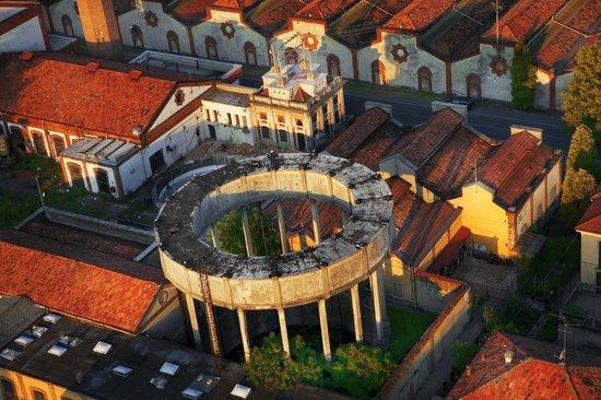 Capriate San Gervasio, Italy: Crespi d'Adda - veduta panoramica