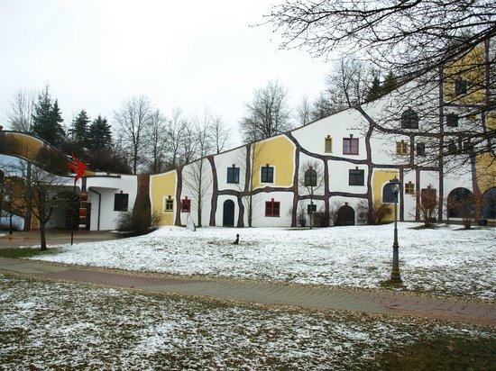 Rogner Bad Blumau: auf dem Weg zum Thermenbereich ...