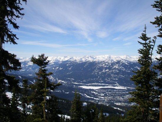 Crystal Hut: Spectacular views