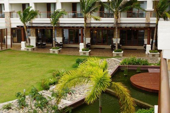 The Bellevue Resort Bohol: Restaurant im Hauptgebäude