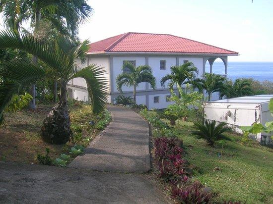 Caribbean Sea View Holiday Apartments: Garden