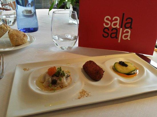 Restaurant Sala: Menú de Degustación