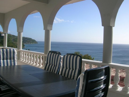 Caribbean Sea View Holiday Apartments: View from Balconey